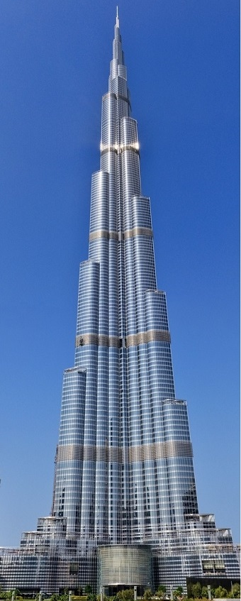 Бурдж Халифа в Дубае - самая