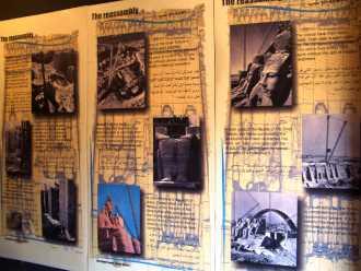 Материалы о переносе храма Абу-Симбел