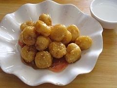 Десерт Китая №1 - фрукты в карамели