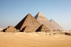 Великие Египетские пирамиды в Гизе
