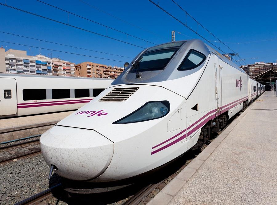 Поезда в испании