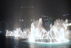 Дубайские танцующие фонтаны