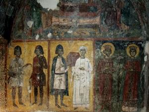 Фрески византийского периода
