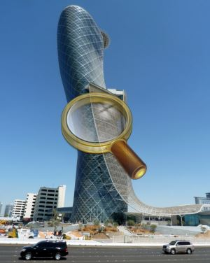 Небоскреб Capital Gate Tower