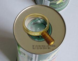 Указан срок годности оливкового масла