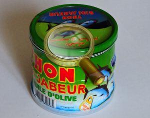 Банки консервов тунца тунисского розлива