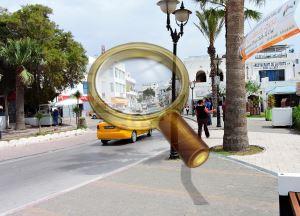расстояние от монастира до туниса