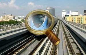 Поезд дубайского метро