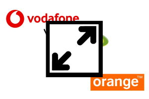 Логотипы Vodafone, Orange, Etisalat