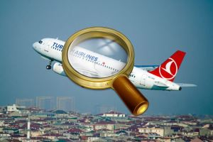 Авиалайнер Turkish Airlines